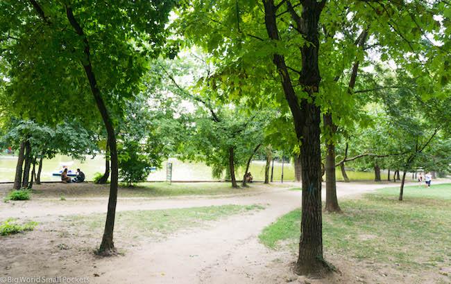 Romania, Bucharest, Park