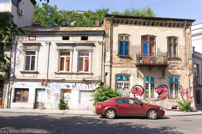 Romania, Bucharest, Street Scene