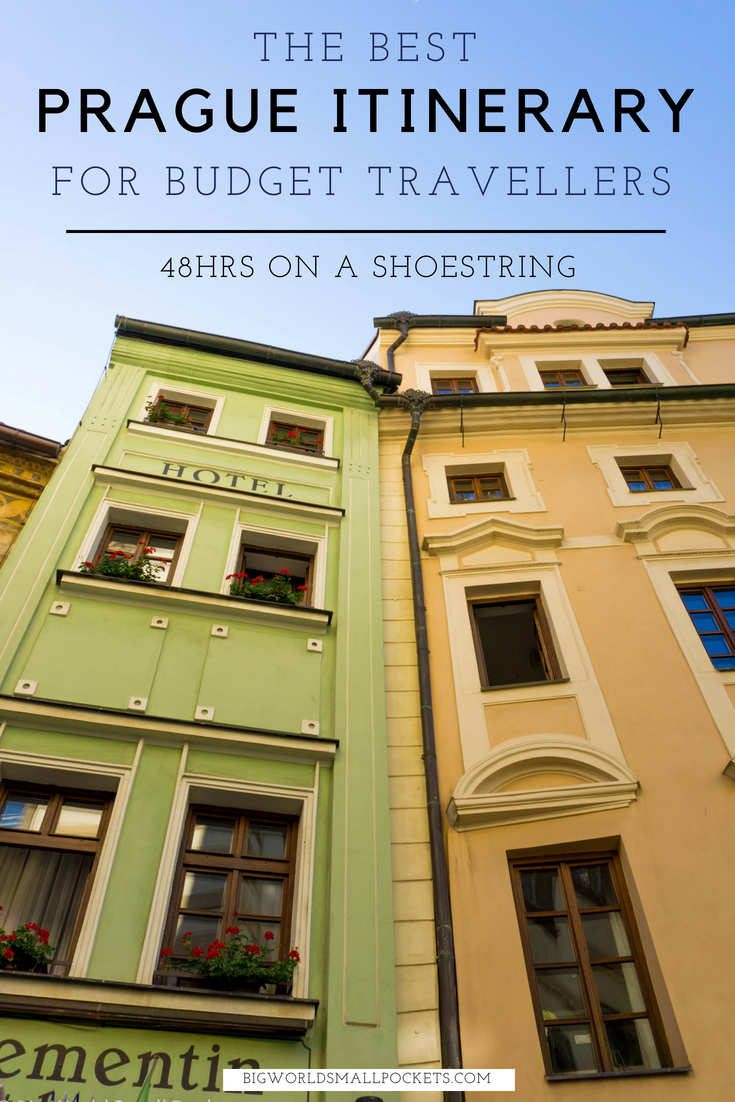 The Best Prague Itinerary for Backpackers - 48hrs on a Shoestring {Big World Small Pockets}