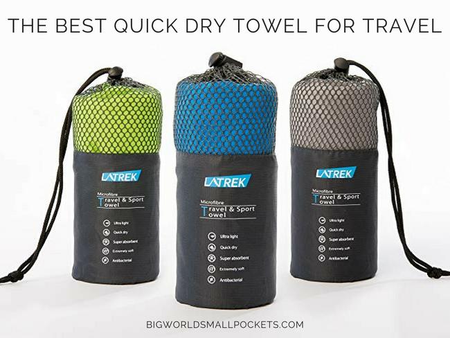 The Best Quick Dry Towel for Travel