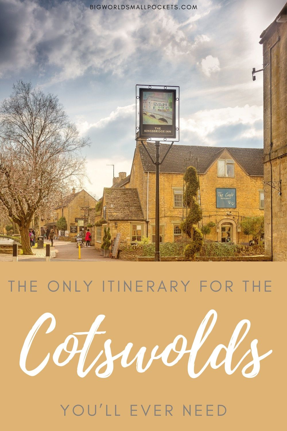 The Only Itinerary for the You'll Ever Need To Visit the Cotswolds in England