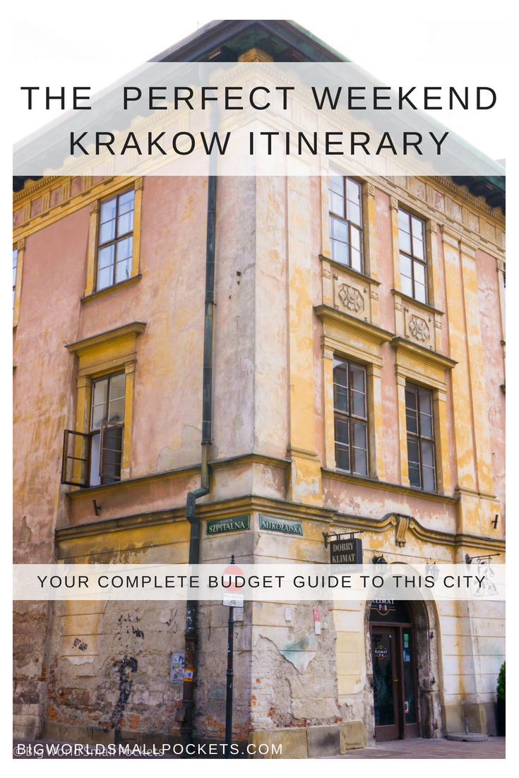The Perfect Weekend Krakow, Poland Itinerary {Big World Small Pockets}