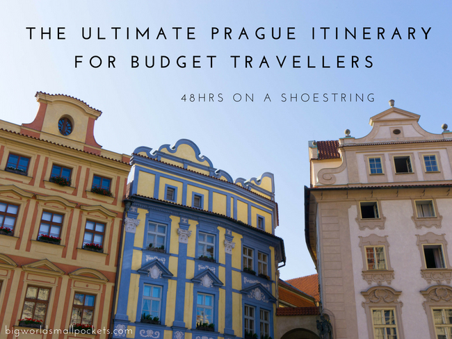 The Ultimate Prague Itinerary for Budget Travellers