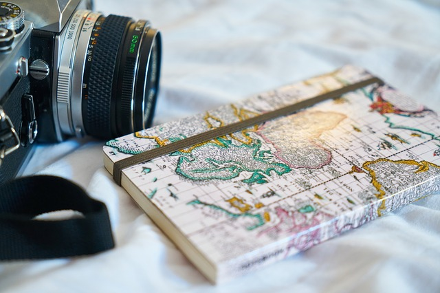 Travel Map and Camera