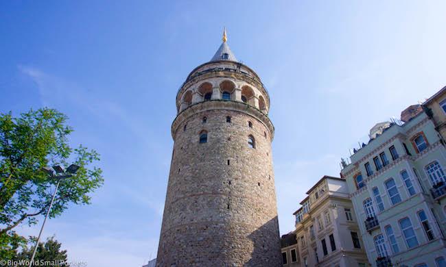 Turkey, Istanbul, Galata Tower