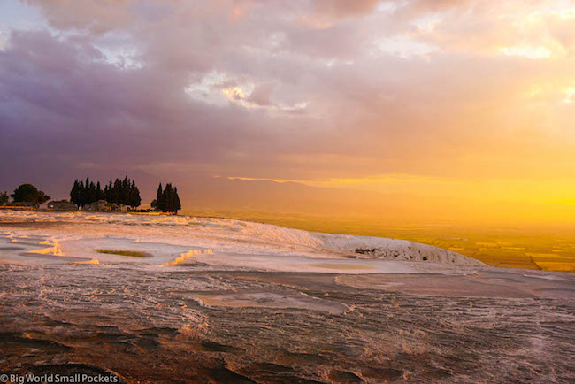 Turkey, Pamukkale, Sunset 3