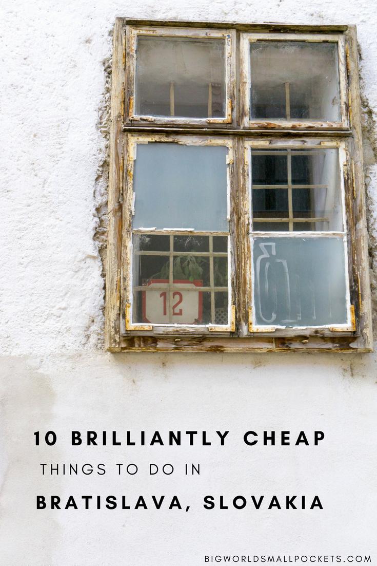 10 Brilliantly Cheap Things to Do in Bratislava, Slovakia {Big World Small Pockets}