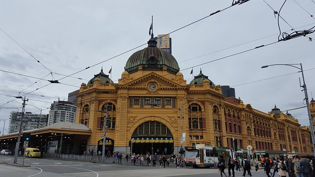 Australia, Melbourne, Central Station