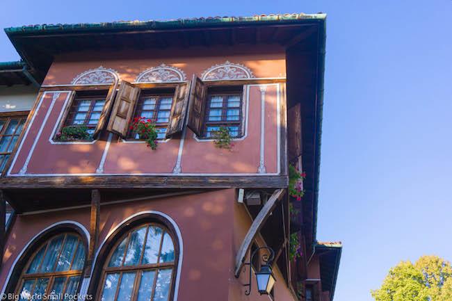 Bulgaria, Plovdiv, Building
