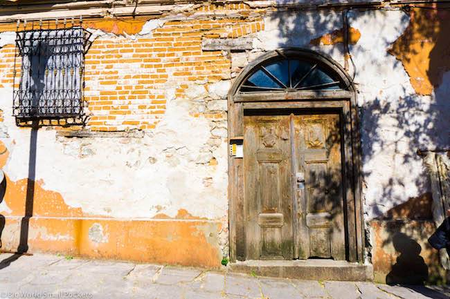 Bulgaria, Plovdiv, Doorway