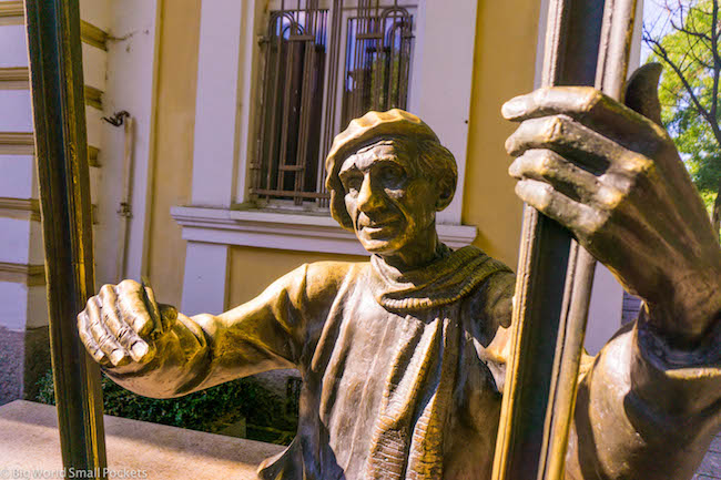 Bulgaria, Plovdiv, Statue