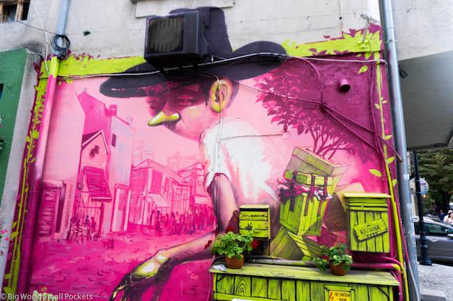 Bulgaria, Plovdiv, Street Art