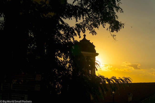 Bulgaria, Plovdiv, Sunset