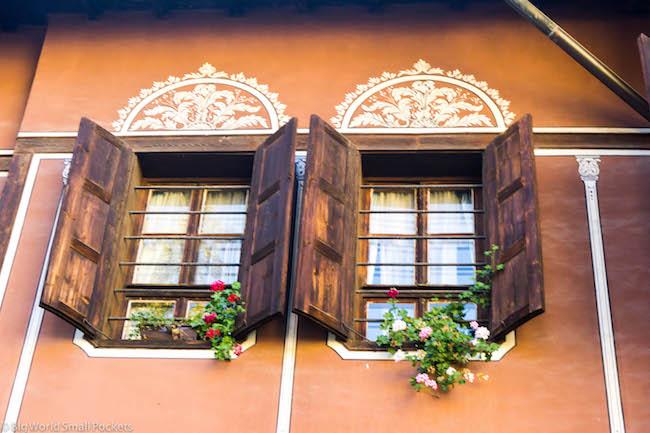 Bulgaria, Plovdiv, Window
