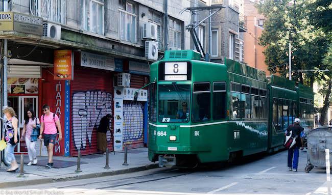 Bulgaria, Sofia, Tram