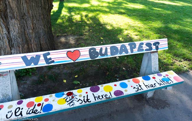 Hungary, Budapest, Bench