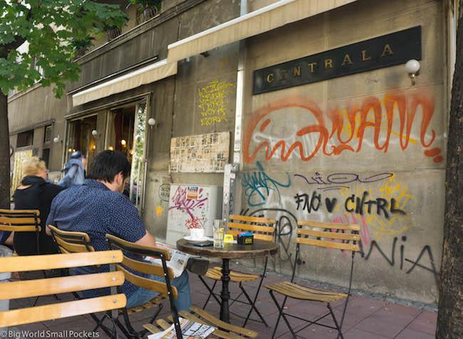 Serbia, Belgrade, Centrala Cafe
