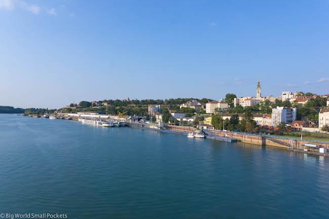 Serbia, Belgrade, River