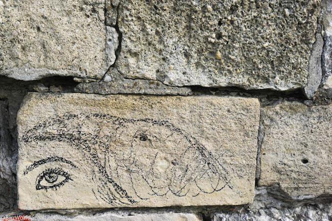 Serbia, Belgrade, Wall