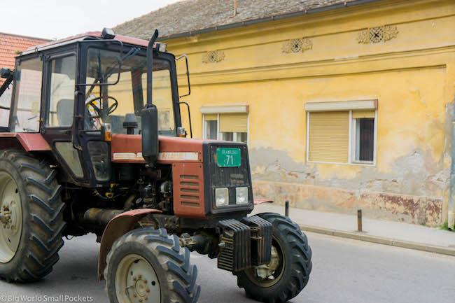 Serbia, Sremski Karlovci, Tractor