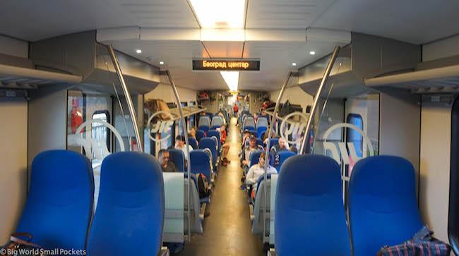 Serbia, Train, Carriage