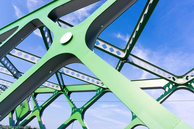 Slovakia, Bratislava, Bridge