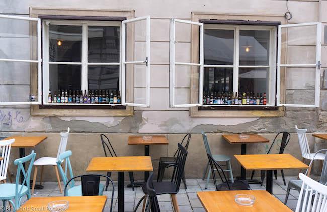 Slovakia, Bratislava, Craft Beer Bar