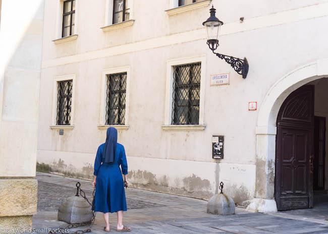 Slovakia, Bratislava, Nun