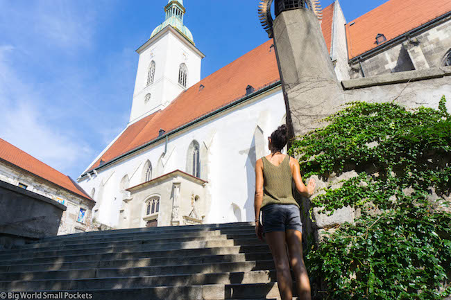 Slovakia, Bratislava, St Martins Cathedral