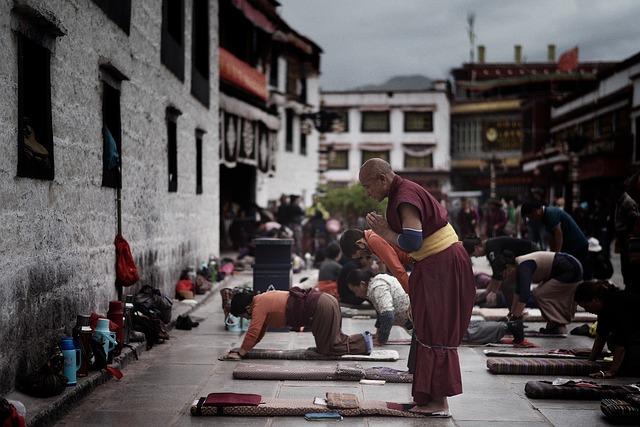 Tibet, Lhasa, Jokhang Temple