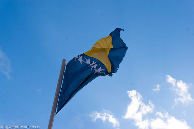 Bosnia, Hercegovina, Flag