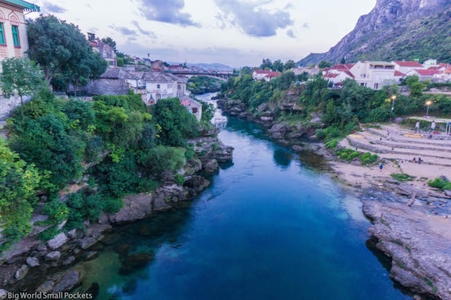 Bosnia, Mostar, River