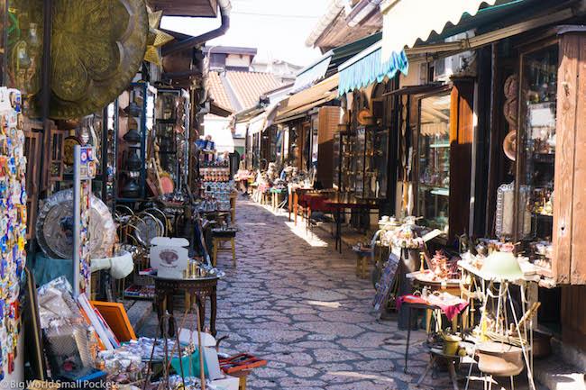 Bosnia, Sarajevo, Old Market