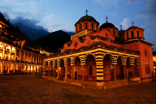 Bulgaria, Rila, Monastery