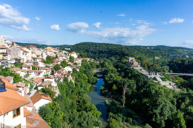 Bulgaria, Veliko Taranovo, View