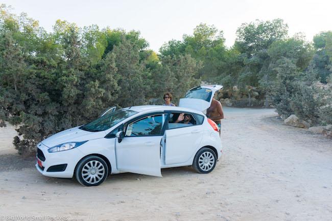 Cyprus, Beach, Hire Car