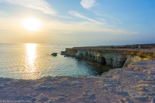 Cyprus, Cape Greco, Sea Caves