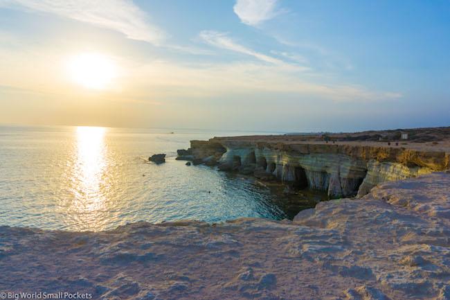 Cyprus, Cape Greco, Sea Caves