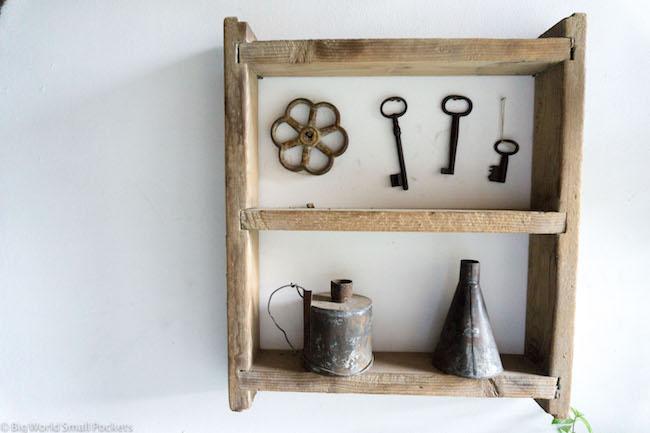 Cyprus, Lyhnos, Artefacts on Shelf