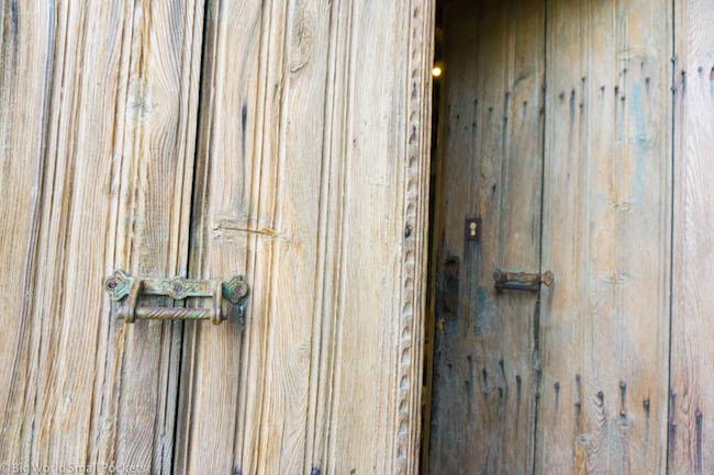 Cyprus, Lyhnos, Doorway