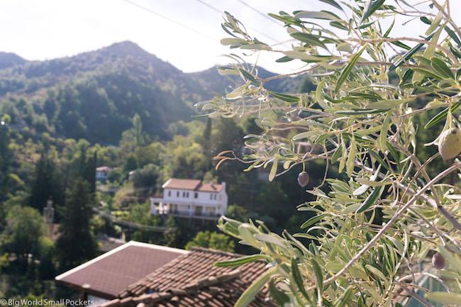 Cyprus, Lyhnos, VIllage View