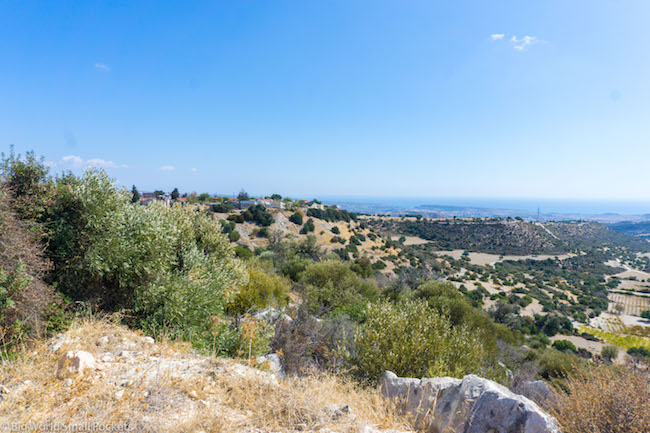 Cyprus, Mountains, View