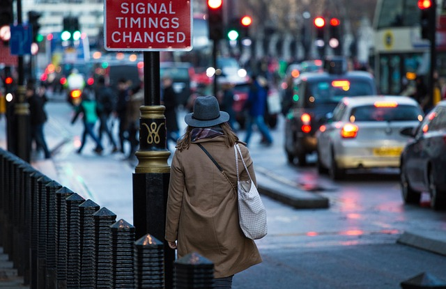 England, Girl, Walking