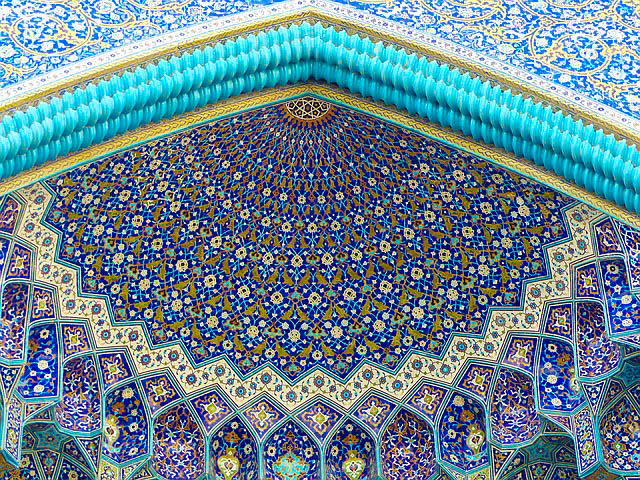 Iran, Isfahan, Mosque