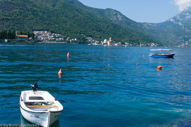 Montenegro, Perast, Harbour