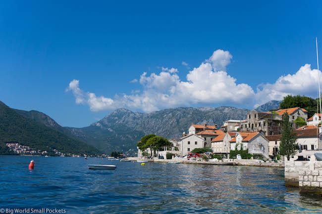 Montenegro, Perast, Village