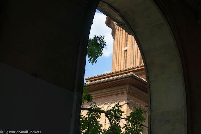 Romania, Bucharest, Arch Views
