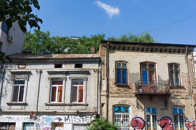 Romania, Bucharest, Houses