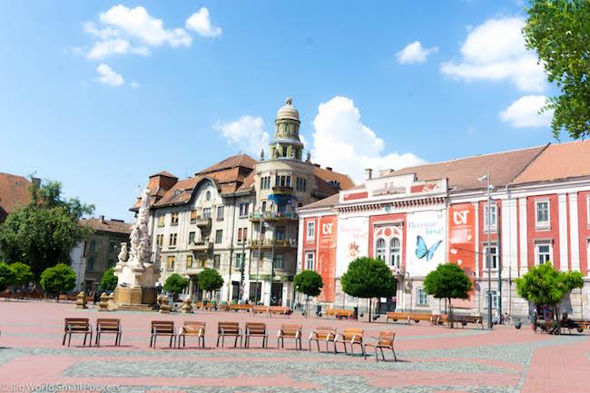 Romania, Timisoara, Square