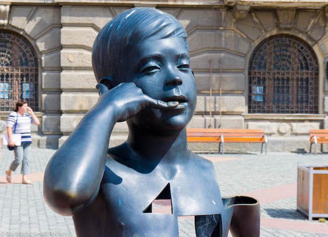Romania, Timisoara, Statue